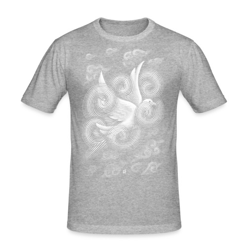 Crossing Clouds - Men's Slim Fit T-Shirt