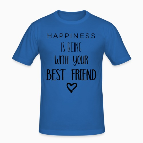 Happiness black edition - Men's Slim Fit T-Shirt