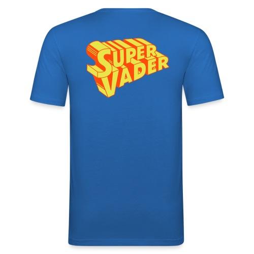 super vader - Mannen slim fit T-shirt