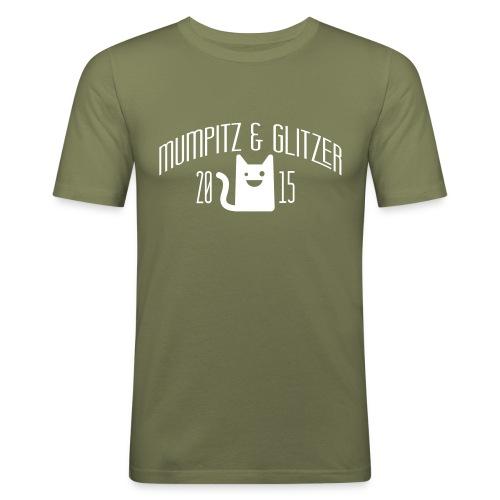 M&G Balken - Männer Slim Fit T-Shirt