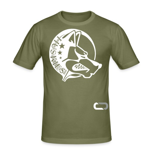 CORED Emblem - Men's Slim Fit T-Shirt