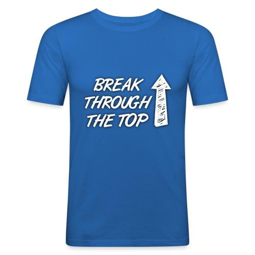 BreakThroughTheTop - Men's Slim Fit T-Shirt