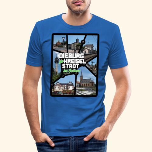 Dieburg die KREISELSTADT im Grünen - Männer Slim Fit T-Shirt