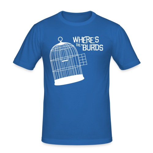 Where s The Burds - Men's Slim Fit T-Shirt