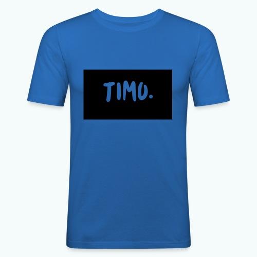 Ontwerp - Mannen slim fit T-shirt