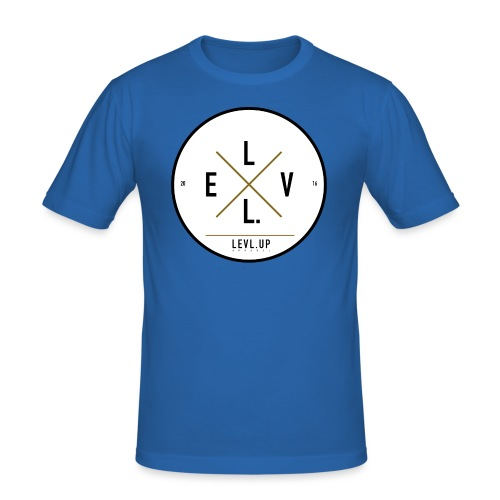level up 0012 png - Men's Slim Fit T-Shirt