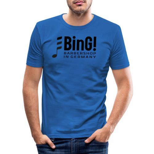 BinG Logo - Männer Slim Fit T-Shirt