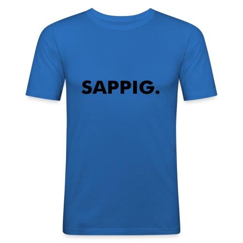 SAPPIG. - Mannen slim fit T-shirt