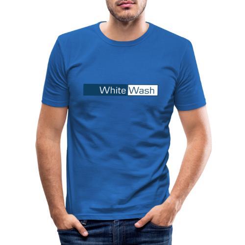 White Wash - Herre Slim Fit T-Shirt