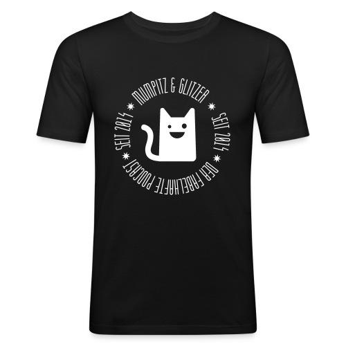 M&G Kreis - Männer Slim Fit T-Shirt