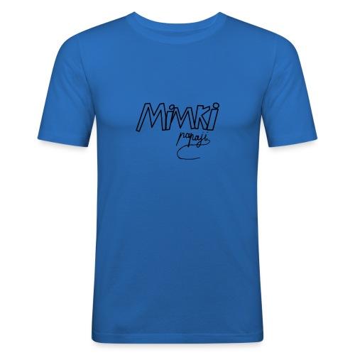 Mimki papaji #2 official logo - Men's Slim Fit T-Shirt