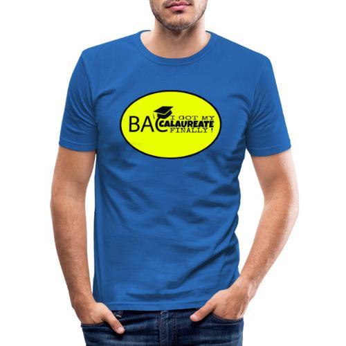 Baccalaureate Design - T-shirt près du corps Homme