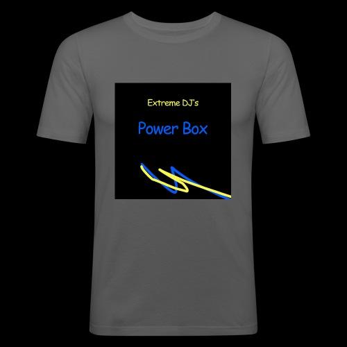 powerbox - Miesten tyköistuva t-paita