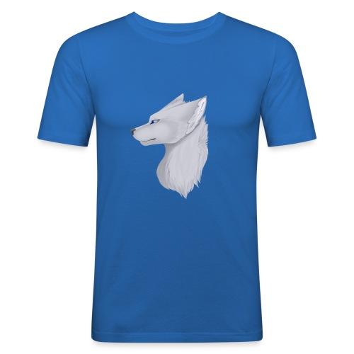 Wolf Bib - Men's Slim Fit T-Shirt