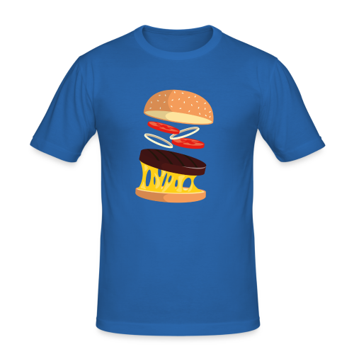 Hamburger Men - Men's Slim Fit T-Shirt