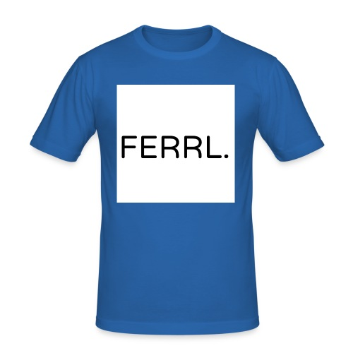 Untitled - Mannen slim fit T-shirt