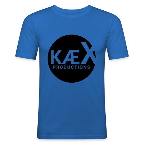 Kæx Hvit Hettegenser - Slim Fit T-skjorte for menn