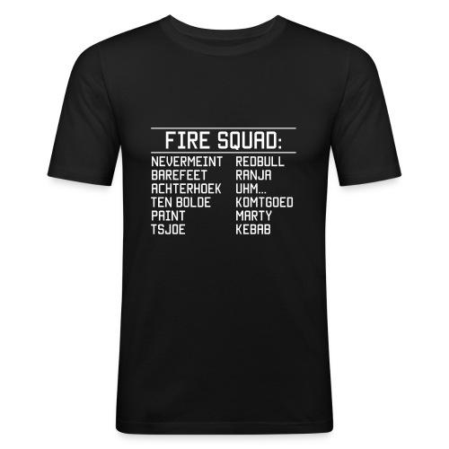 8DArmyTekst v001 - Mannen slim fit T-shirt