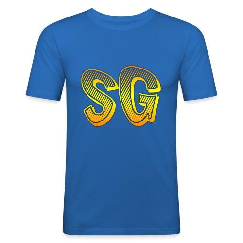 SG Uomo - Maglietta aderente da uomo