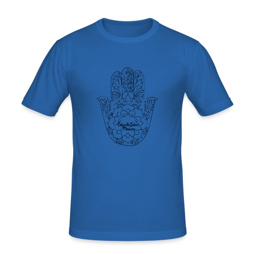 Celain&Galven-Mercure - Miesten tyköistuva t-paita
