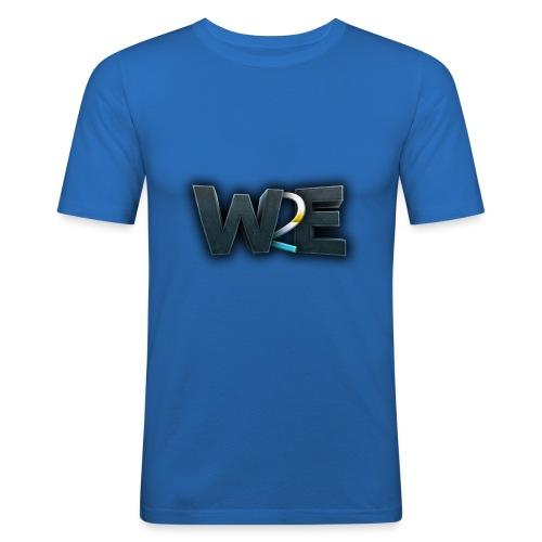 w2e 3d - T-shirt près du corps Homme