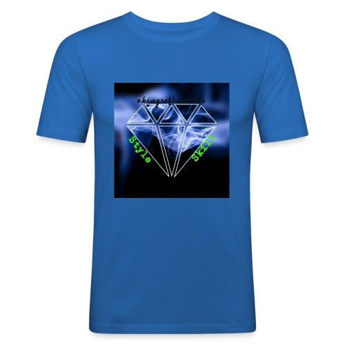 StyleSkilldia - Männer Slim Fit T-Shirt
