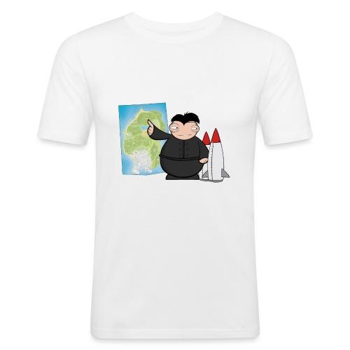 Happy Dictator. - Camiseta ajustada hombre