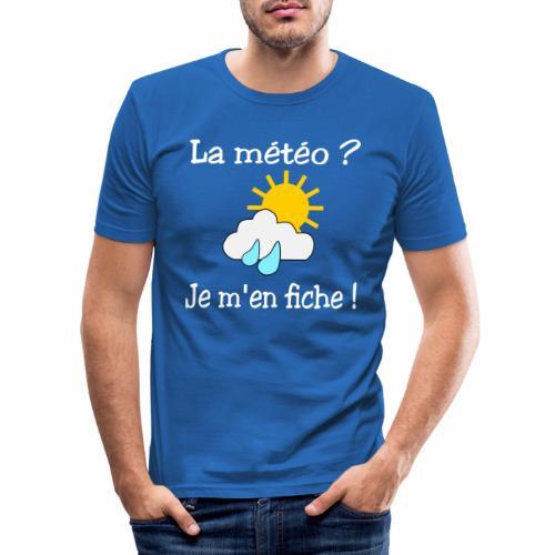 La météo - je m'en fiche ! - Men's Slim Fit T-Shirt