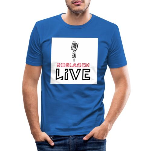 Roslagen Live - Slim Fit T-shirt herr