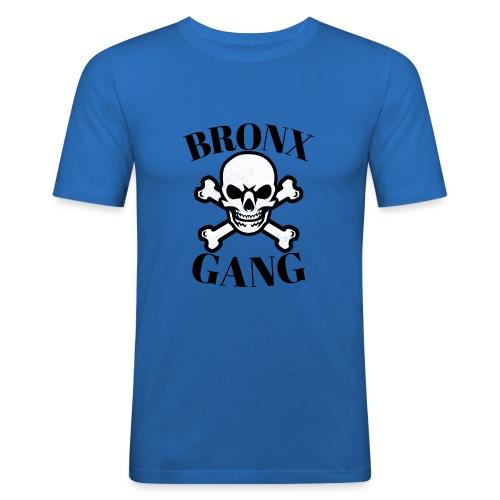 tête de mort gang - T-shirt près du corps Homme
