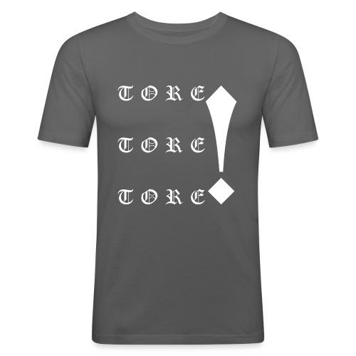 Tore! Tore! Tore! - Männer Slim Fit T-Shirt