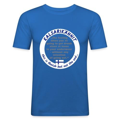 Kalsarikännit - Männer Slim Fit T-Shirt