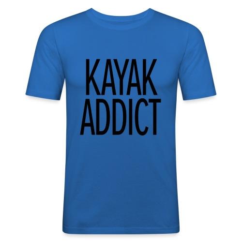 Kayak addict sweat-shirt Contraste - T-shirt près du corps Homme