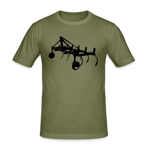 Cultivator1 - Men's Slim Fit T-Shirt
