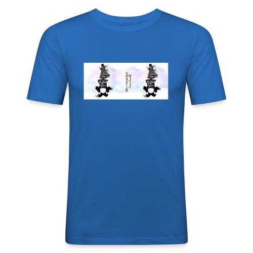 Alice in wonderland - La locura del sombrerero - Camiseta ajustada hombre