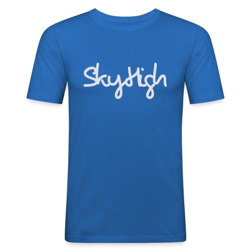 SkyHigh - Women's Hoodie - Gray Lettering - Men's Slim Fit T-Shirt