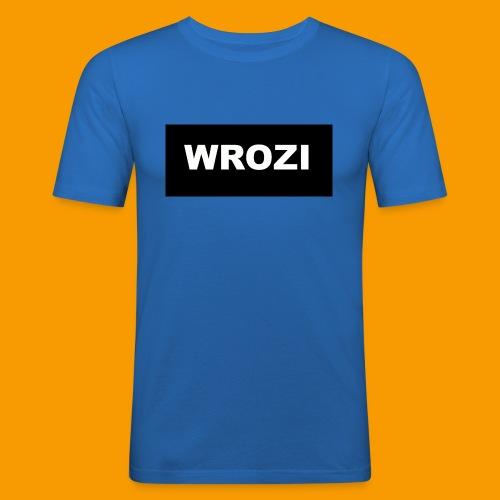 WROZI hat - Men's Slim Fit T-Shirt