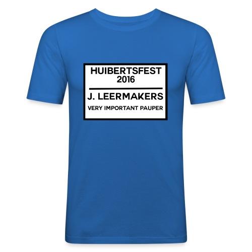 Huibertsfest - Mannen slim fit T-shirt