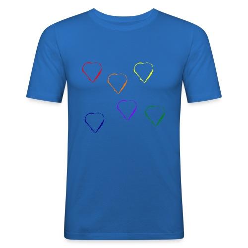 Tanzende Herzen 20.1 - Männer Slim Fit T-Shirt