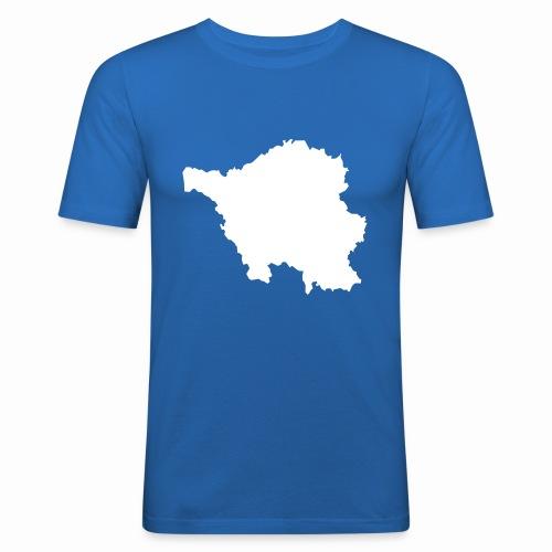 Saarland T-Shirt - Männer Slim Fit T-Shirt