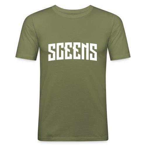 Sceens Snapback - Mannen slim fit T-shirt