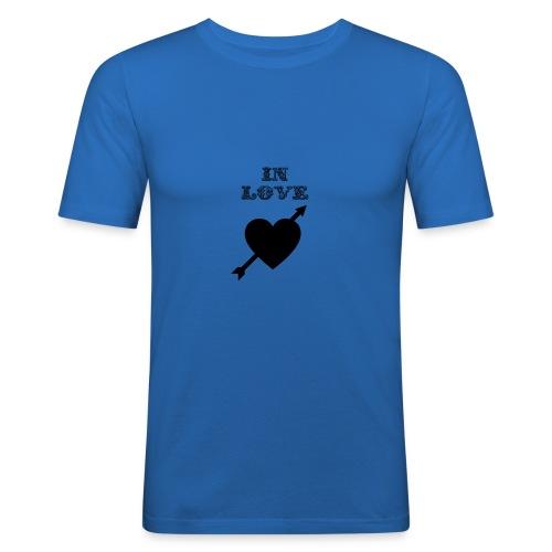 I'm In Love - Maglietta aderente da uomo