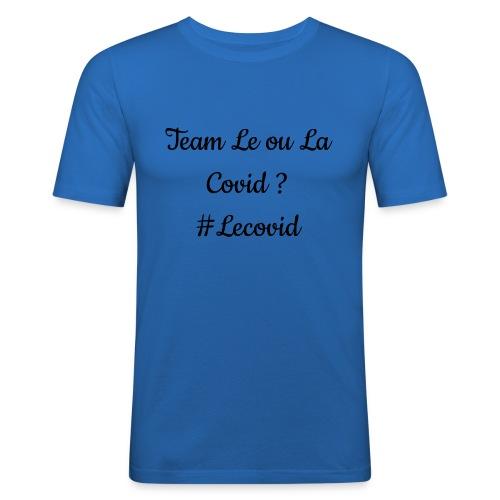 design covid - T-shirt près du corps Homme