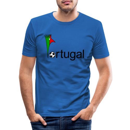 Galoloco Portugal 1 - Männer Slim Fit T-Shirt