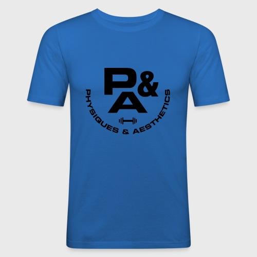 CAMISETA AJUSTADA P&A BLANCO - Camiseta ajustada hombre