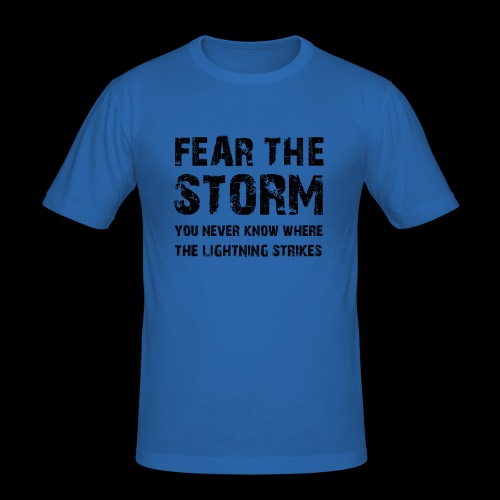 Fear The Storm - Slim Fit T-shirt herr