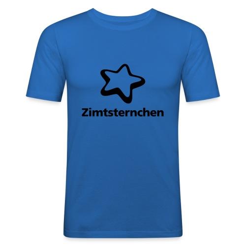 Zimtsternchen - Männer Slim Fit T-Shirt