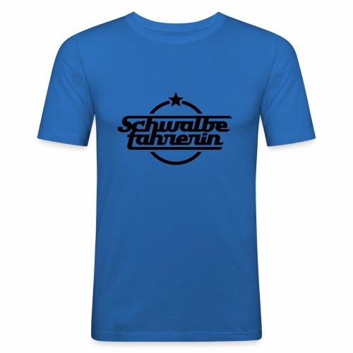 Schwalbefahrerin - Men's Slim Fit T-Shirt