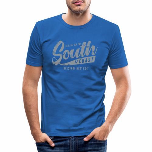 ETELÄRANNIKKO, SOUTH COAST HELSINKI COOL T-SHIRTS - Miesten tyköistuva t-paita
