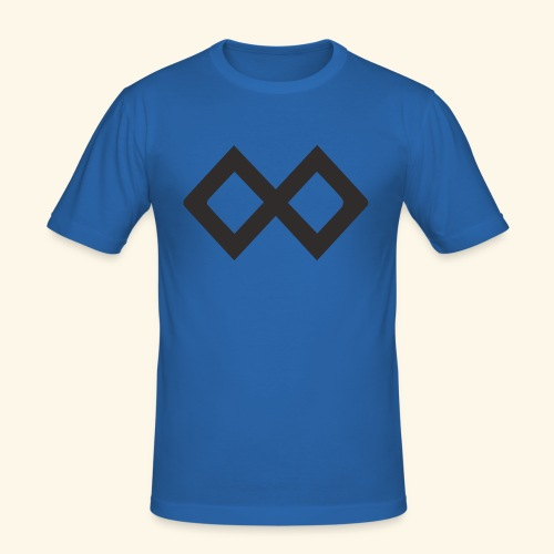 TenX Logo - Männer Slim Fit T-Shirt